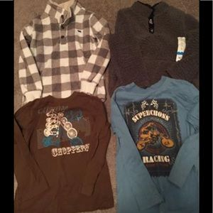Boys sweatshirts bundle-size 5 & 6